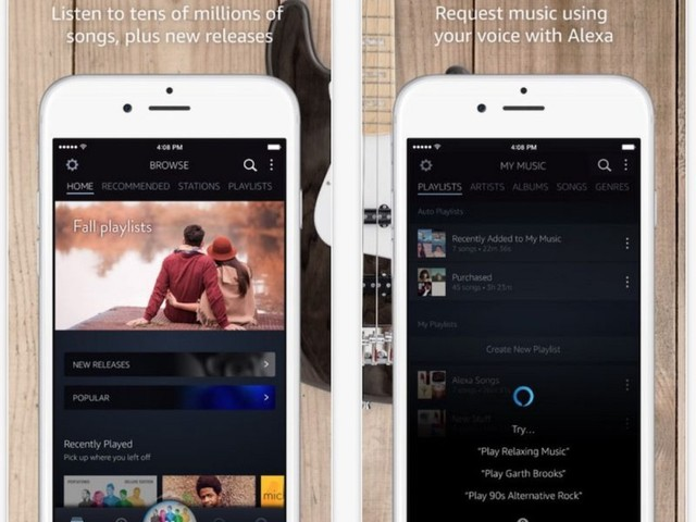Amazon Music Mobile App Updated With Alexa Integration