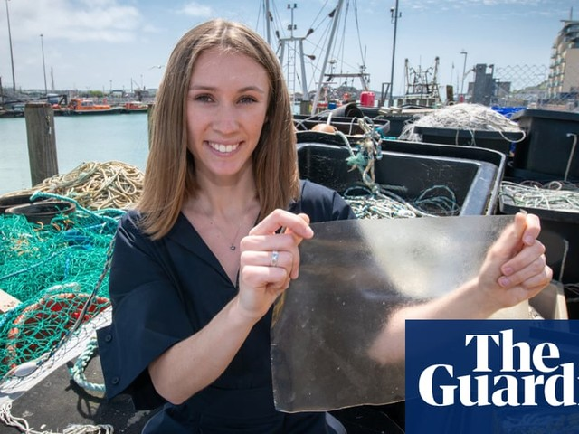 Scaling back: graduate invents plastic alternative from fish waste