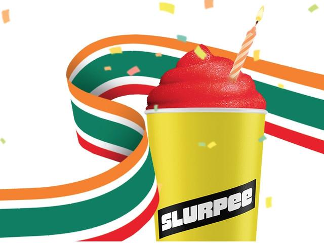 Free 7-Eleven Slurpee Any Day in July!
