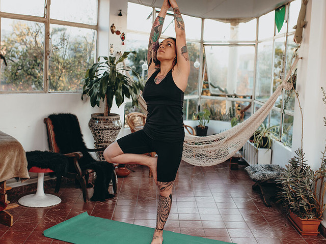 Tree Pose Gets to the Root of Your Posture and Balance Issues