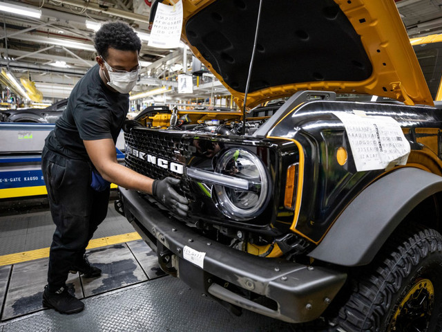 This Just In: Ford Bronco Production is Underway