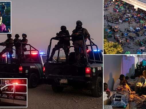 Up to 5,000 Haitians remain in squalid camp and many are released into the US