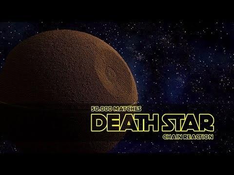 50000 Matches Death Star Fire Chain Reaction