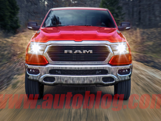 This could be the next-generation 2019 Ram 1500