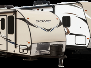 Venture SportTrek and Sonic Travel trailers!