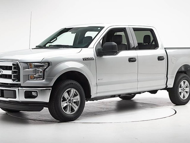 Repair costs stay low for aluminum F-150