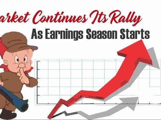 Market Continues Its Rally As Earnings Season Starts