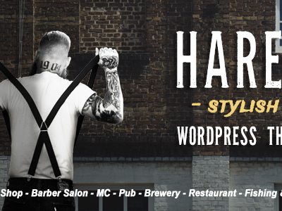Hares - A Stylish WordPress Theme (Art)