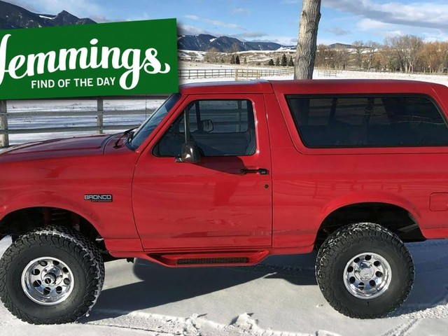 Hemmings Find of the Day: 1995 Ford Bronco XLT