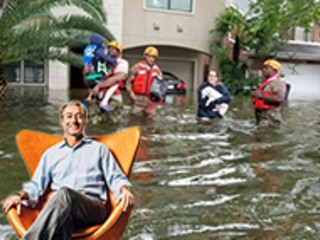You see flooded homes. Gary Beasley sees the 'Next Big Thing'