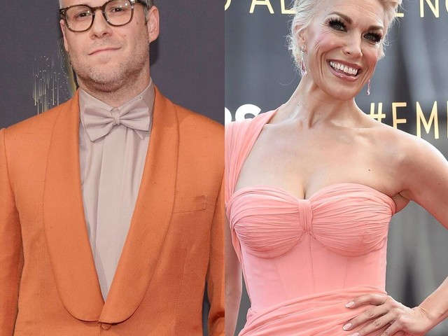 "Seth Rogen Mispronouncing Hannah Waddingham's Name Is the ""Adele Dazeem"" Moment of the 2021 Emmys"