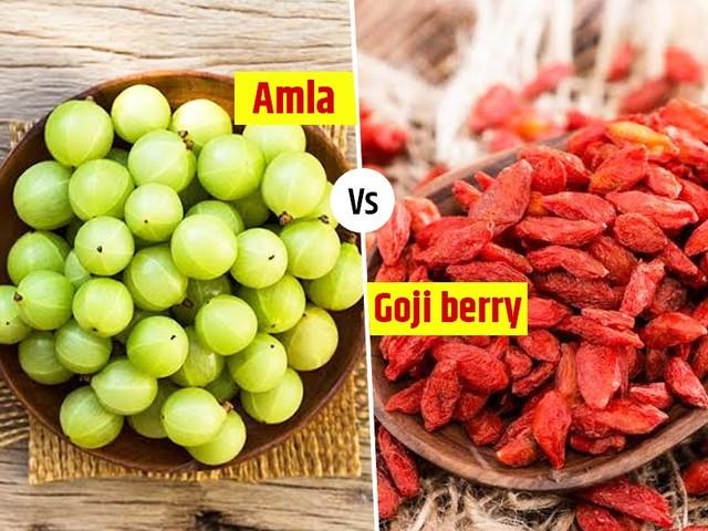 Goji Berry Vs Amla: Which One Is Healthier?