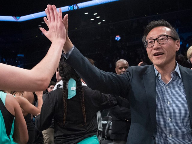 Alibaba billionaire Joseph Tsai is buying out the Brooklyn Nets in a $2.35 billion deal, and it's the highest price ever paid for a sports franchise