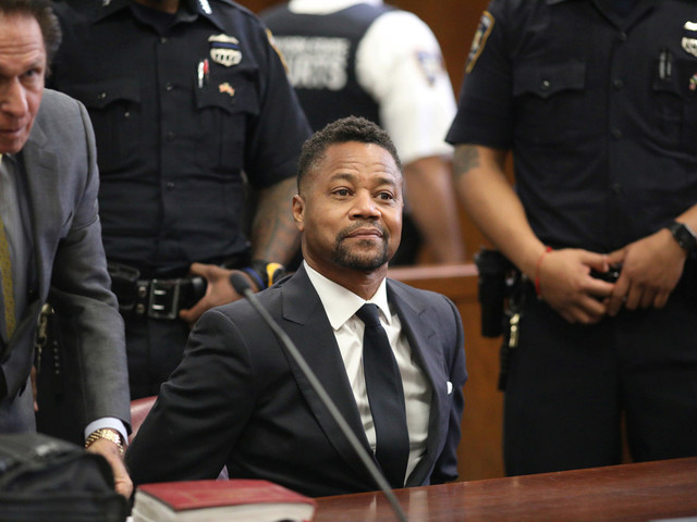 Bartender sues Cuba Gooding Jr. for groping her at nightclub