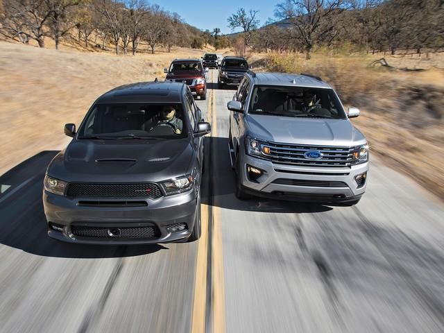 Beasts of Burden: Ford Expedition vs. Chevrolet Tahoe vs. Dodge Durango vs. Toyota Sequoia vs. Nissan Armada