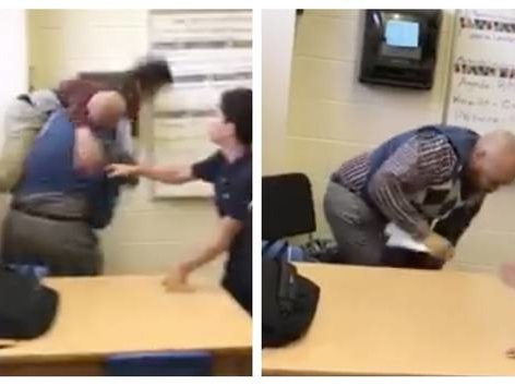 Substitute Teacher Fired After Video Surfaces of Him Body-Slamming a Student