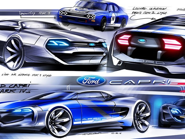 "Ford Capri To Make A Return? ""Who Would Not Want That?"", Says Design Chief"