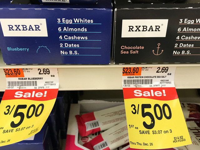RXBAR Protein Bars $0.92 at Acme! {Ibotta}
