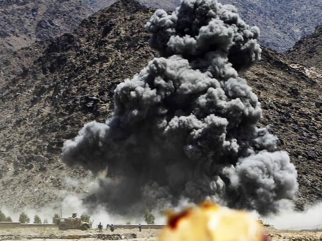 US airstrikes kill a dozen Afghan civilians, as battle with Taliban heats up – report