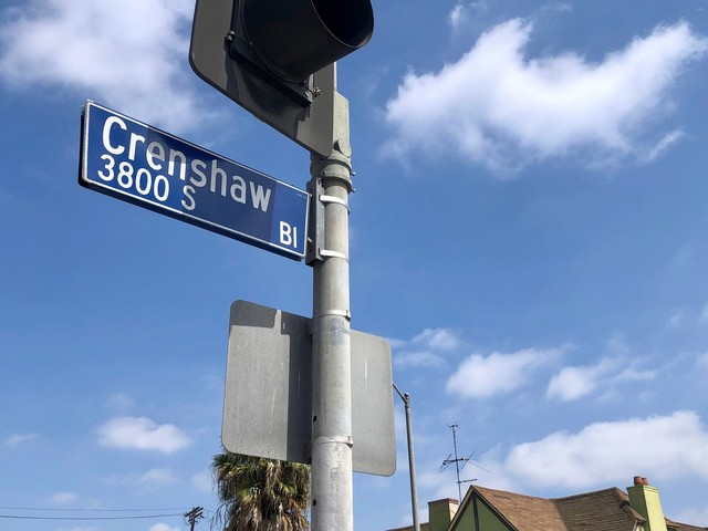 What's in a street name? How a proposal to rename Crenshaw Boulevard divided the community
