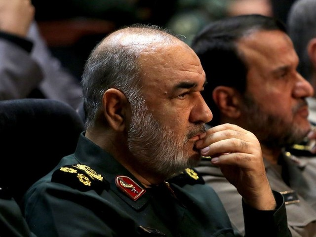 Iran's Islamic Revolutionary Guard Corps claims responsibility for missile strikes on Iraqi bases housing US troops