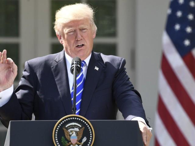 """Trump Says U.S. Prepared To Use """"Devastating, Military Option"""" On North Korea"""