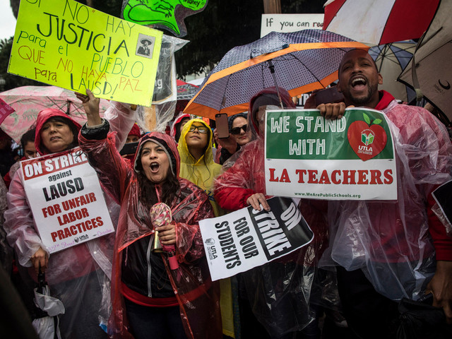 GoFundMe raises $30k to give free tacos to LA teachers on strike