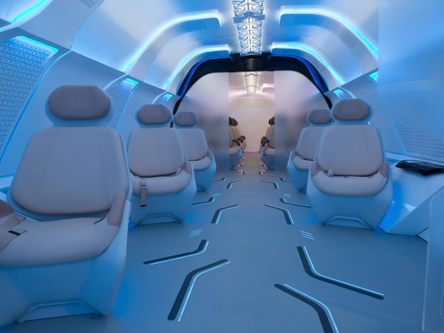 What the Hyperloop's first class will be like, according to BMW