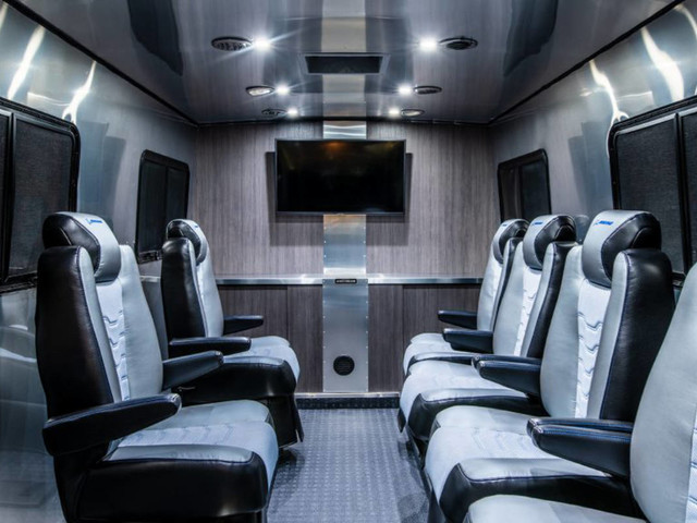 Airstream reveals Astrovan II shuttle made for Boeing astronauts