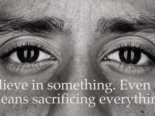 Colin Kaepernick is starring in a new 'Just Do It' ad for Nike