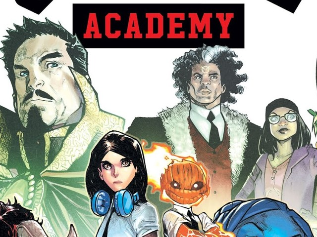 MARVEL OPENS THE DOOR TO A NEW MAGICAL SAGA WITH STRANGE ACADEMY!