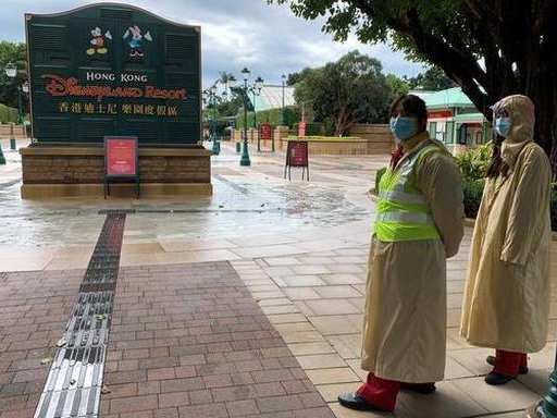 Coronavirus: Hong Kong Disneyland to be closed to help prevent spread of virus