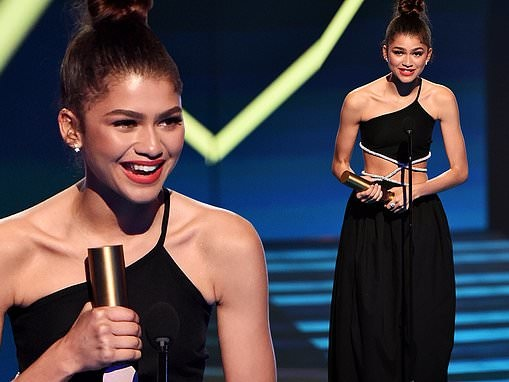 Inside the People's Choice Awards: Zendaya 'absolutely honored' to win two trophies