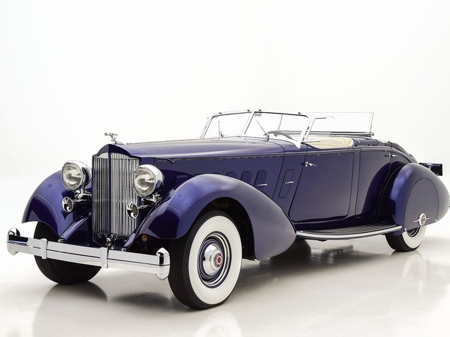 1937 Packard Twelve--Limousine