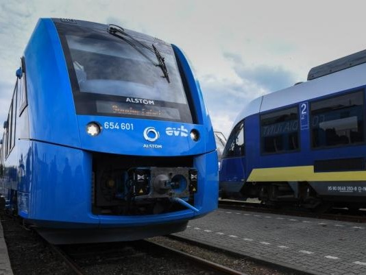 World's first hydrogen fuel cell passenger train begins service in Germany