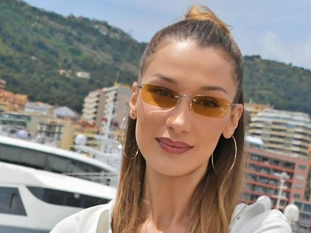 Bella Hadid Returns To Her Signature Hair Look For Paris Fashion Week