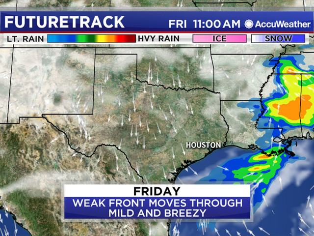 Next front to bring chance for colder temperatures