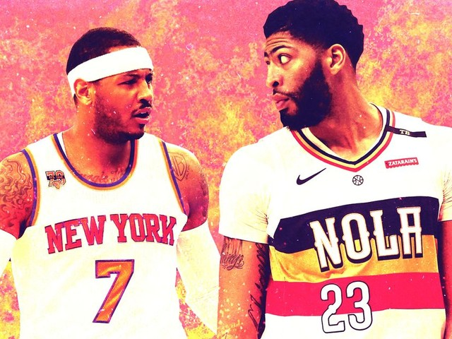 Anthony Davis Might Be Too Melo to Be the Star He Thinks He Is