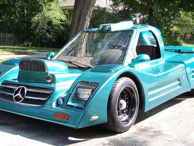 """This Mercedes-Benz """"Replica"""" Is Great In The """"Terns"""" And Has """"Gold Wing Doors"""""""