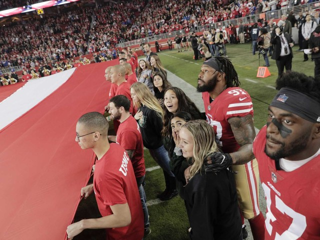 49ers host group from fire-ravaged Paradise