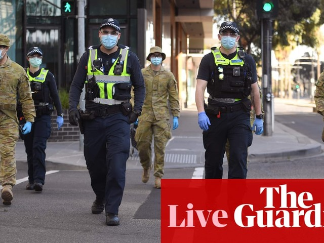 Coronavirus live news: Global cases pass 18m as Melbourne braces for further lockdown measures