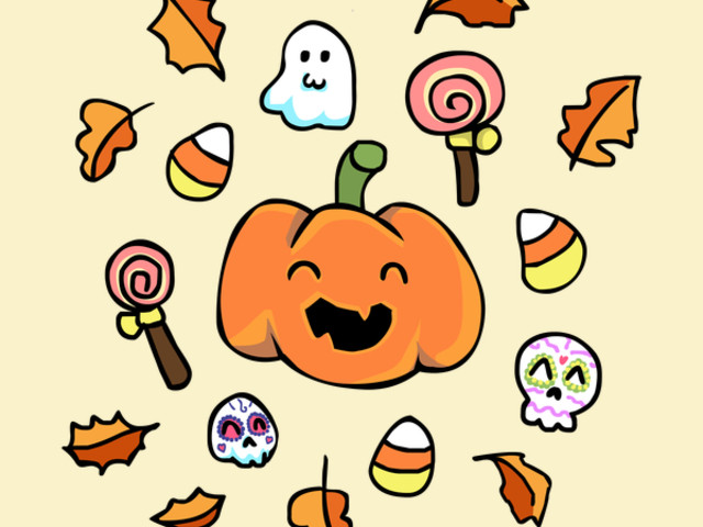 Halloween Doodles - Time To Sweeten Up Your T-Shirt Collection!