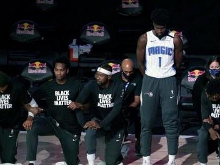 """NBA's Jonathan Isaac Becomes First To Stand For National Anthem And Refuse To Wear A """"Black Lives Matter"""" T-Shirt"""