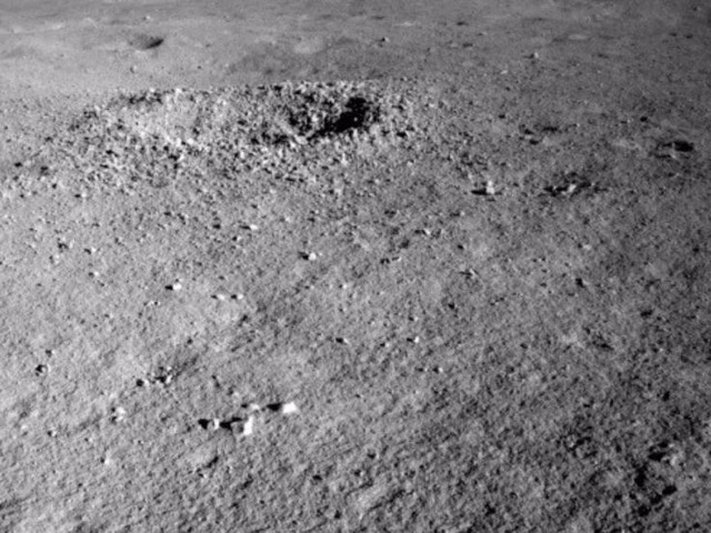 China's lunar rover found a bizarre and unexpected substance on the Moon