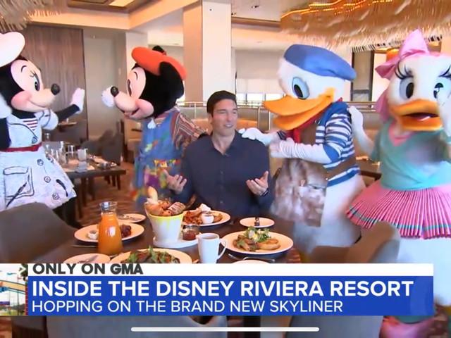 GMA Shares First Look at Character Costumes at Topolino's Terrace at Disney's Riviera Resort
