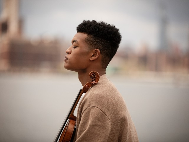 With 'Roots,' violinist Randall Goosby makes a first impression with lasting impact