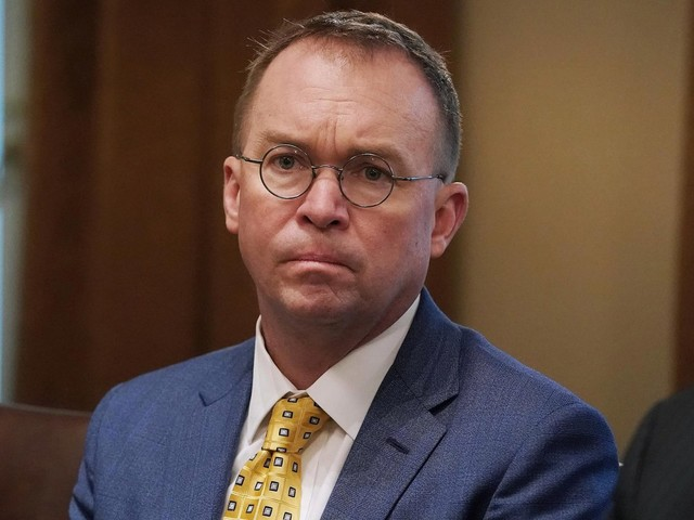 Mulvaney: Democrats will 'never' see Trump's tax returns
