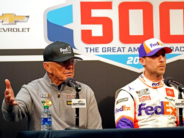 Joe Gibbs apologizes for team's Daytona celebration: 'We really didn't know' how serious Ryan Newman crash was