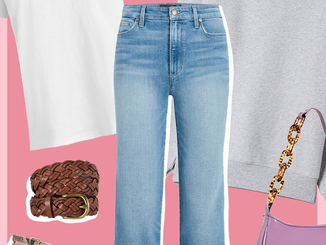 How To Wear Jeans & A White T-Shirt For An Entire Week — Without Anyone Noticing