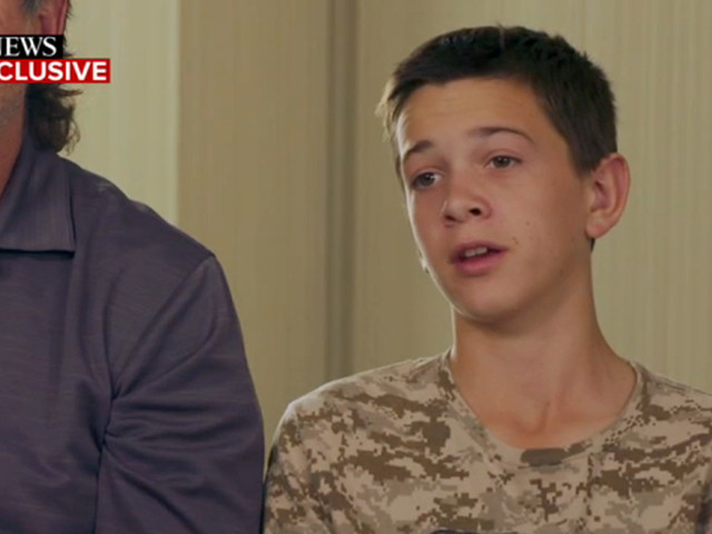 Teen boy recalls how he saved his siblings after family was gunned down in Mexican drug cartel attack